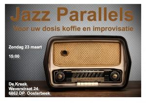 Jazz Parallels Poster 23 maart 2014