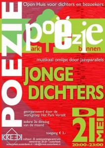 Jazz parallels poster poezie avond